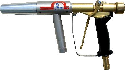 Hochleistungs- – Injektor – Strahlpistole