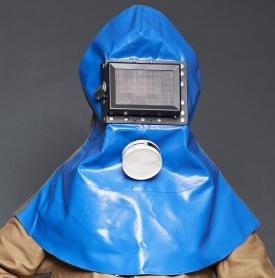 Sandstrahler-Kopfschutzhaube  Modell S2