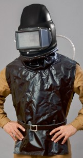 Sandstrahler-Schutzhelm Modell S4